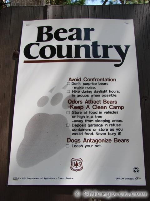 Kings Canyon N.P. Bear County