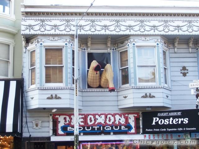 San Francisco Haight street