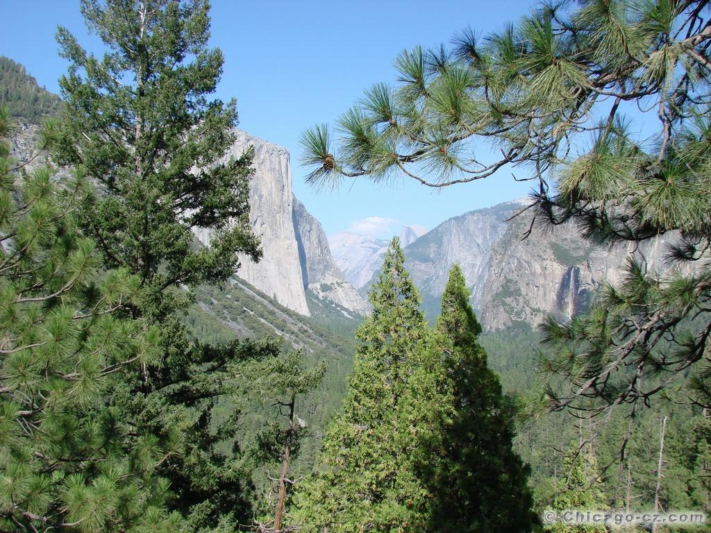 Yosemite Valley N.P. Udoli1
