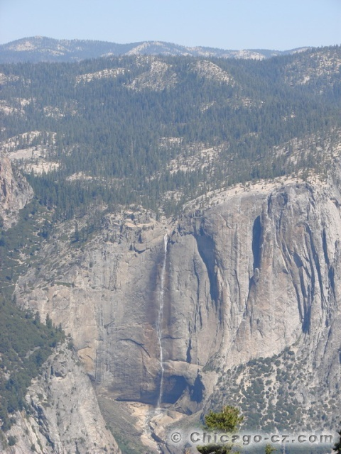 Yosemite Valley N.P. Vyhled z Taft point
