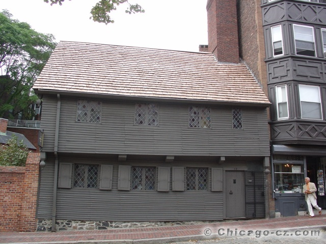 Boston - Paul Reveres house2